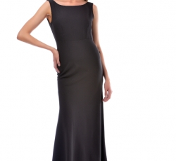 Open Back Dress-W5