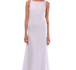 Long White Dress-W7