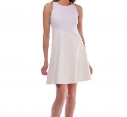 Skater Dress with open Back-W25