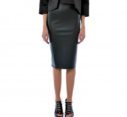 Leather Skirt-W32