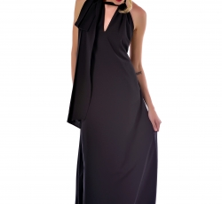 Blackless Dress-W51